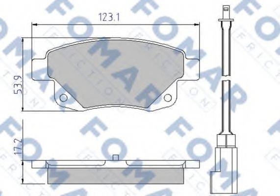 FOMAR FRICTION FO 925281